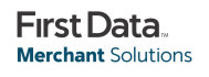 Logo First Data